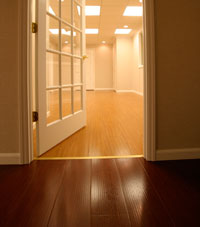 Basement Wood Flooring installed in St. Paul, Minnesota and Wisconsin