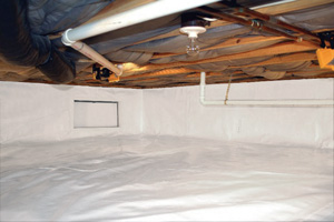 Crawl Space Repair After in Superior