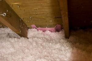 New Insulation installed in Two Harbors attic